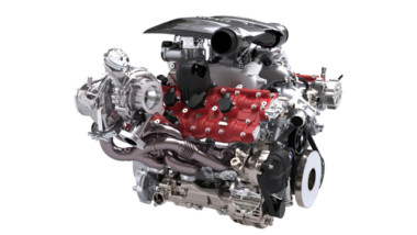 A tribute to the most powerful V8 engine ever